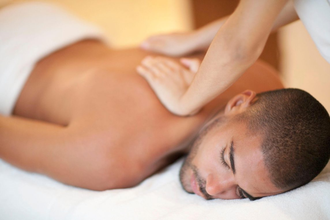a session of erotic massage
